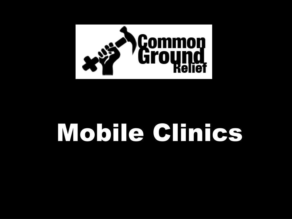 Mobile Clinics