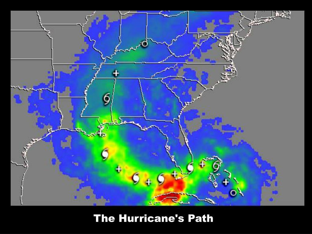 The Hurricane's Path