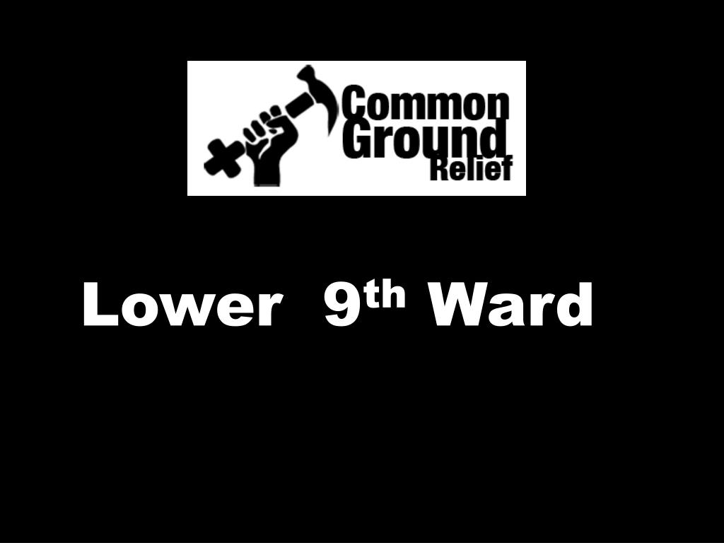 Lower  9