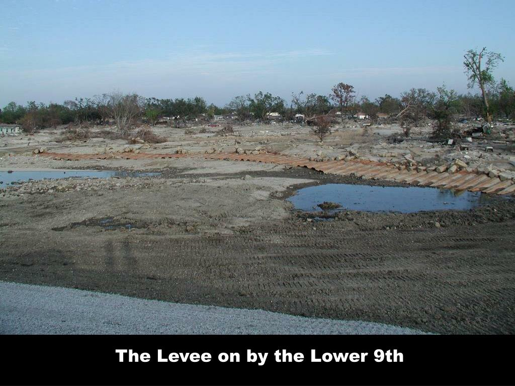 The Levee on by the Lower 9th