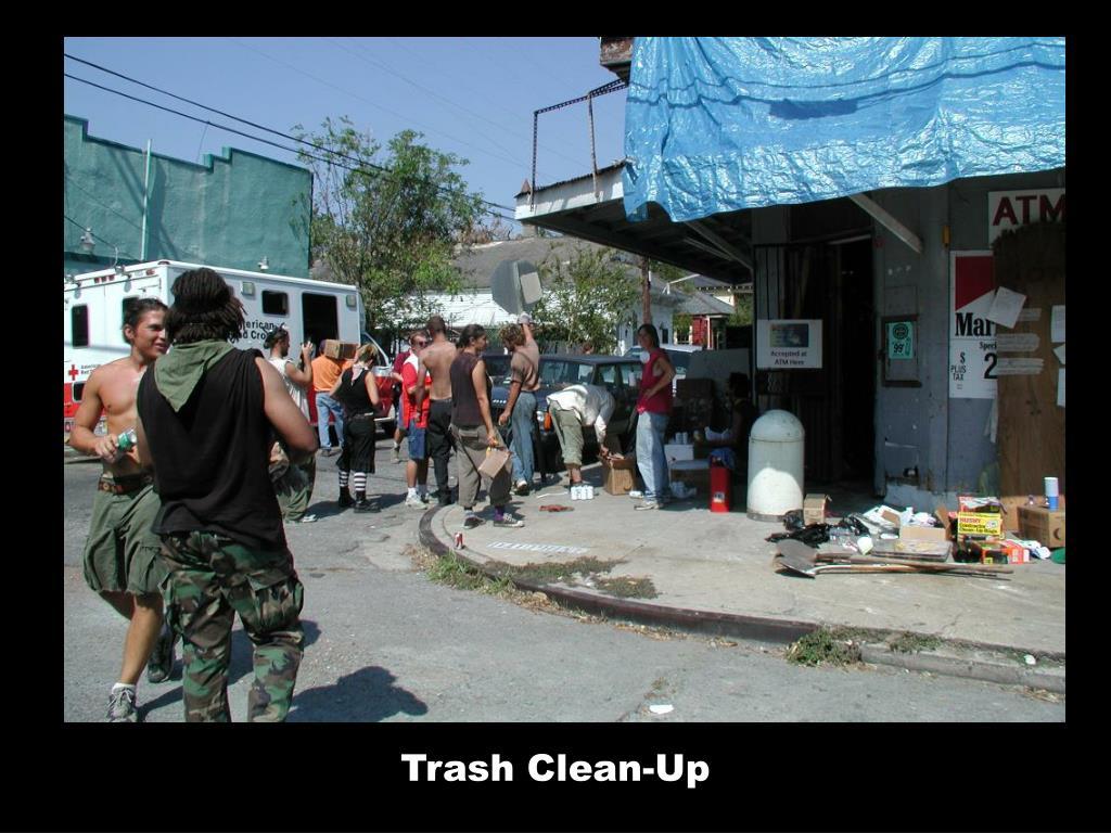 Trash Clean-Up