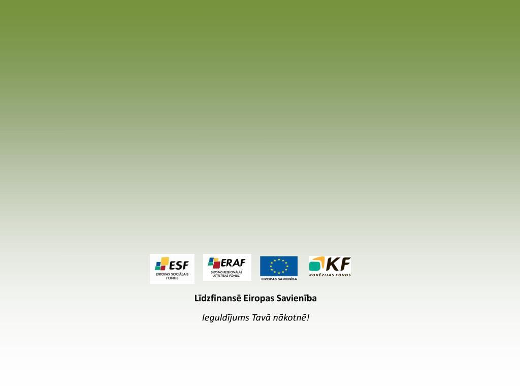 Līdzfinansē Eiropas Savienība