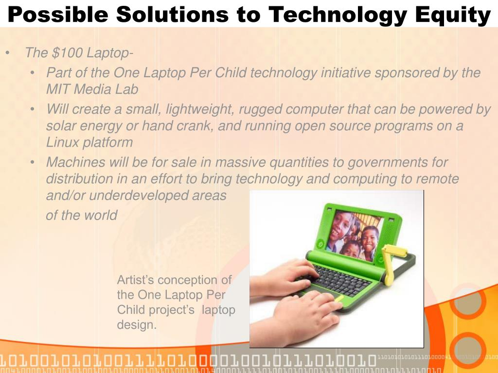 Possible Solutions to Technology Equity