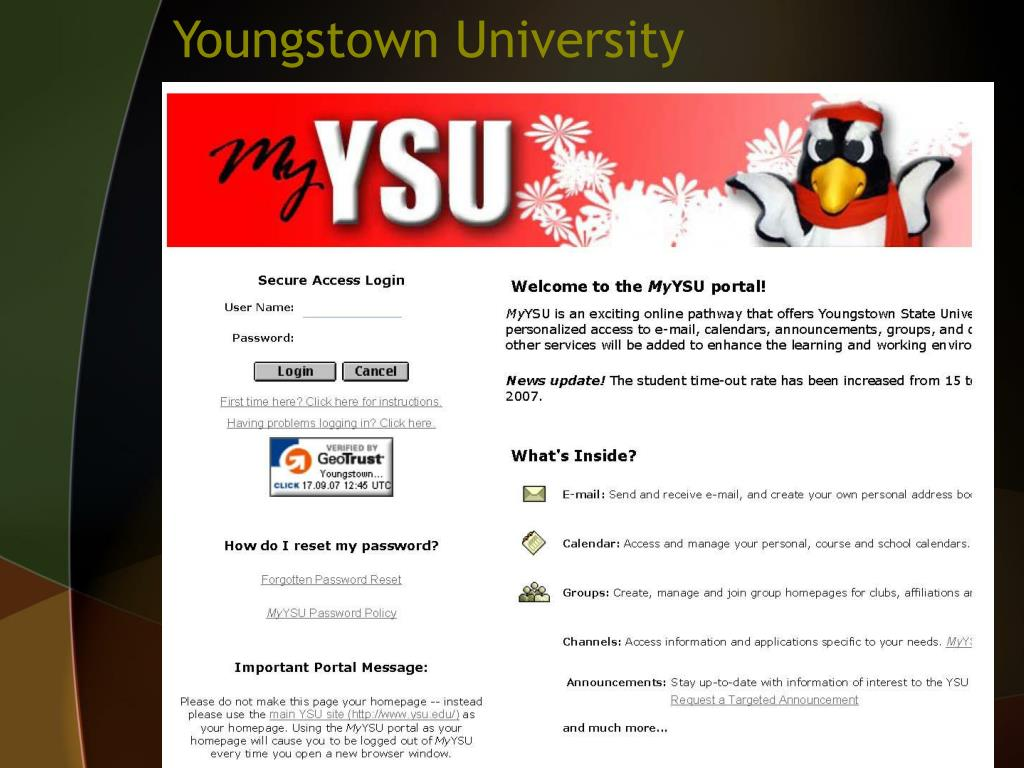 Youngstown University