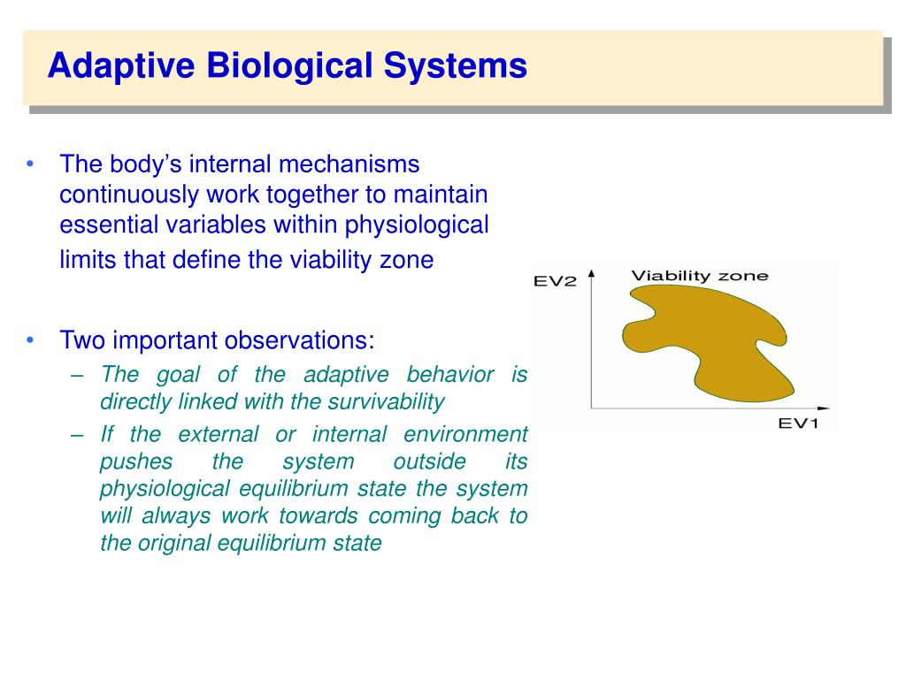 Adaptive Biological Systems