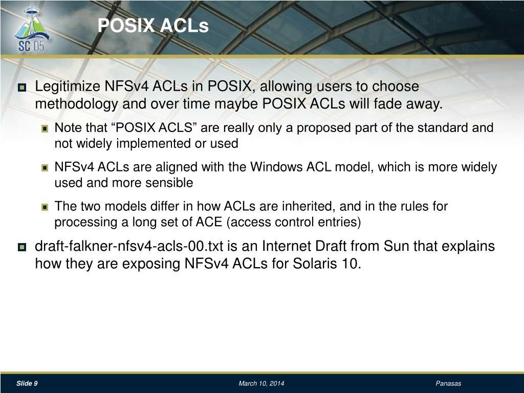 POSIX ACLs