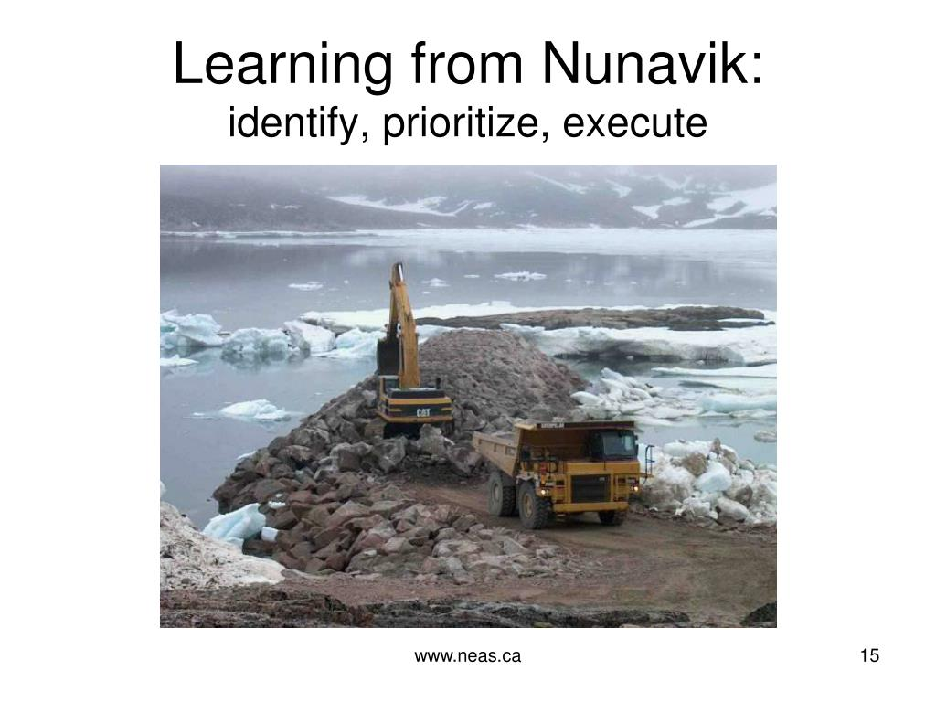 Learning from Nunavik: