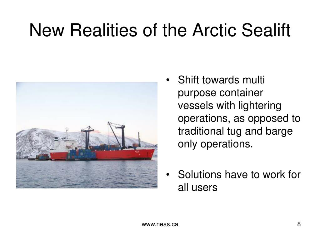 New Realities of the Arctic Sealift