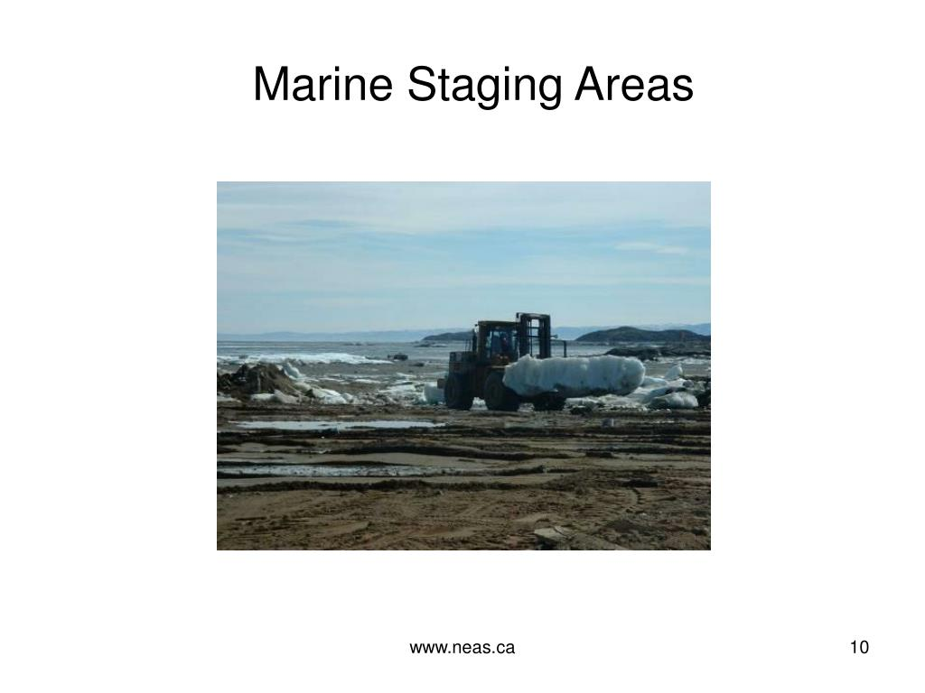 Marine Staging Areas