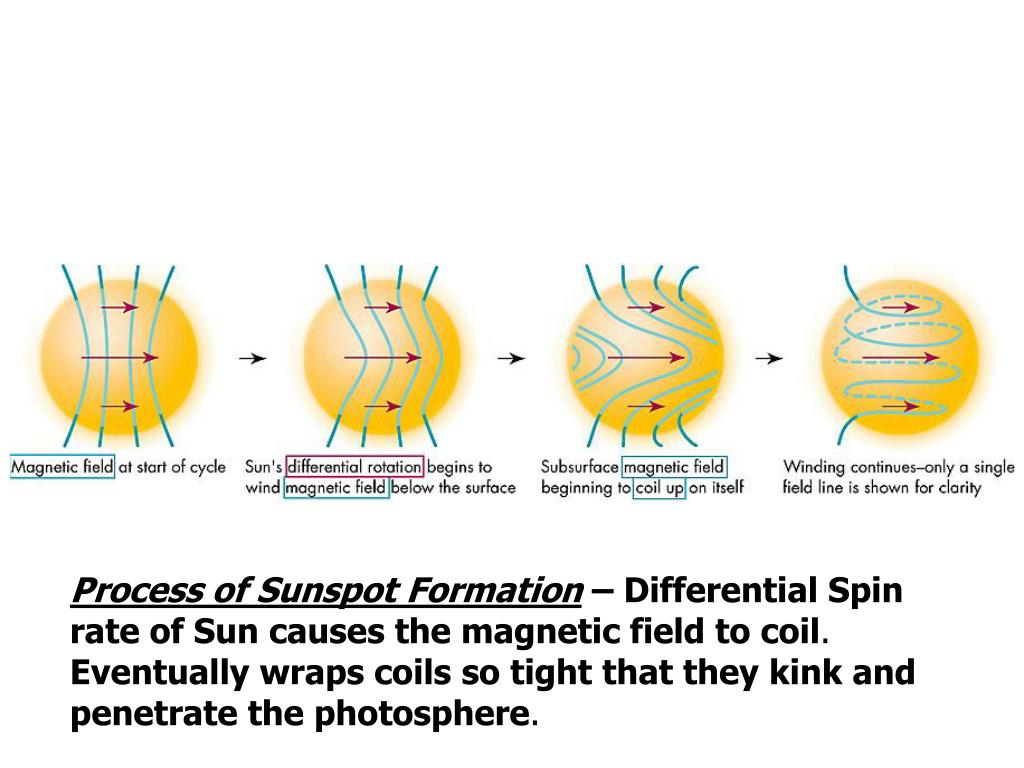 Process of Sunspot Formation