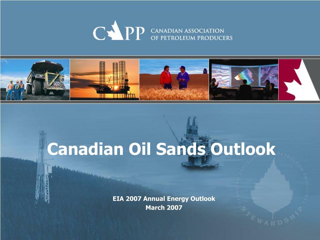 canadian oil sands outlook