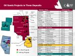 oil sands projects in three deposits