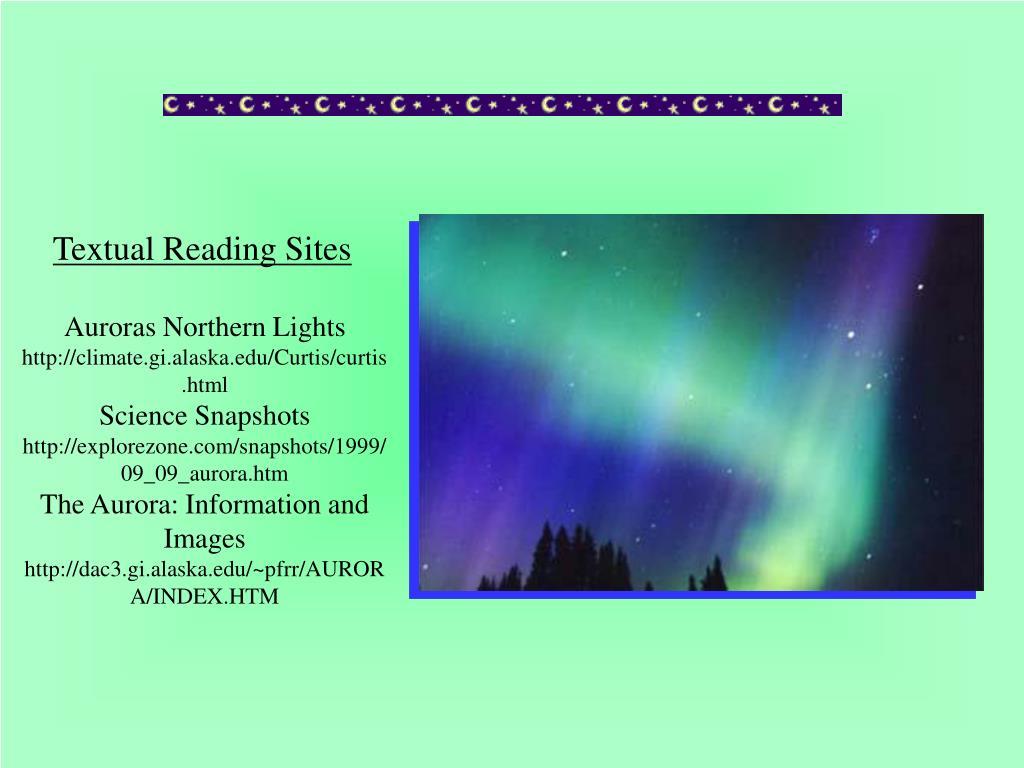 Textual Reading Sites
