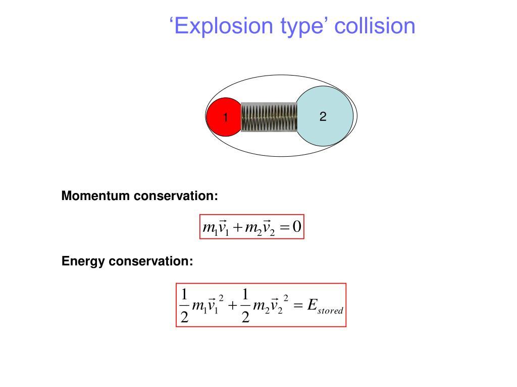 'Explosion type' collision