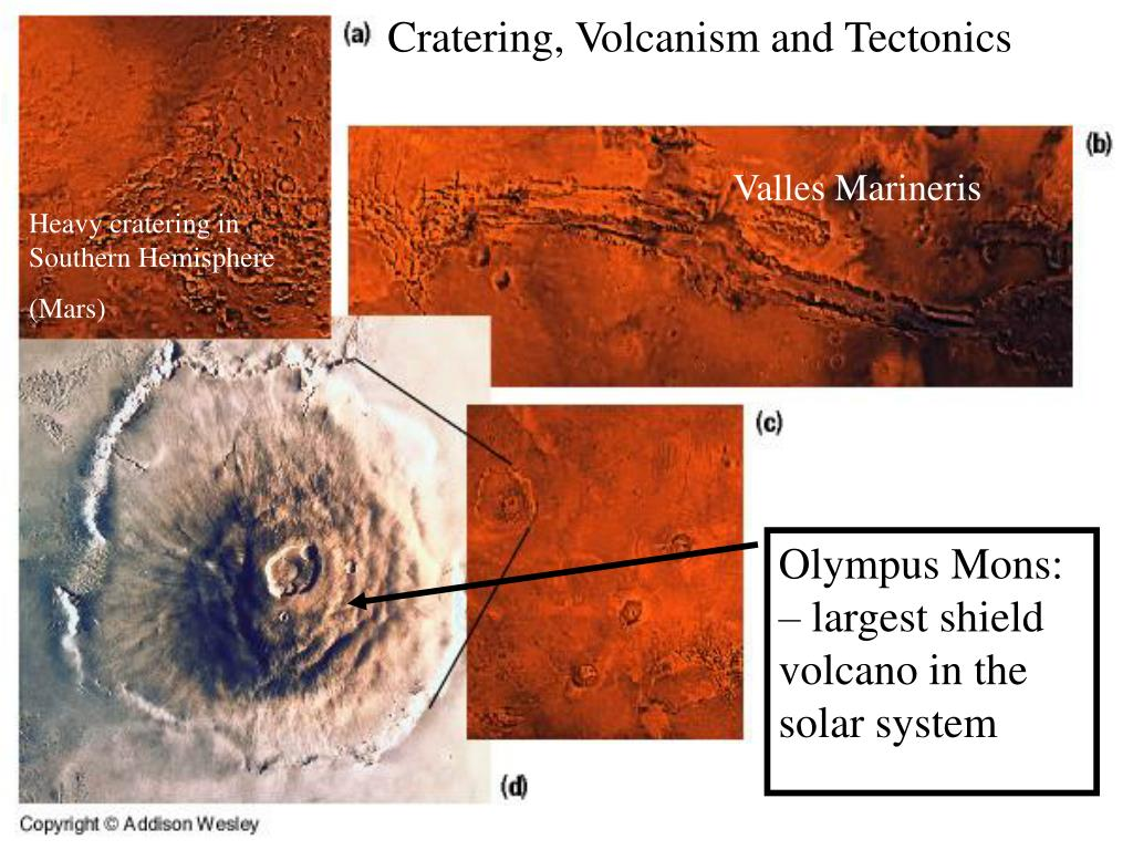 Cratering, Volcanism and Tectonics