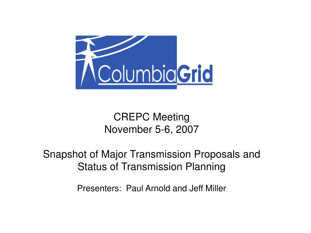 CREPC Meeting