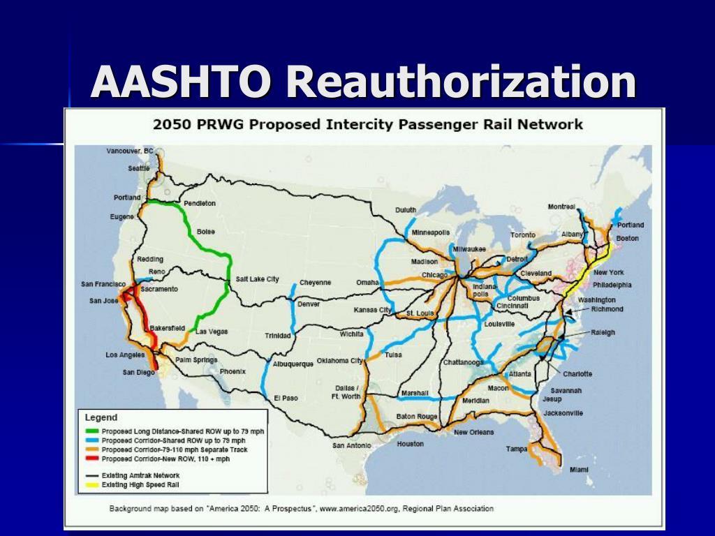 AASHTO Reauthorization
