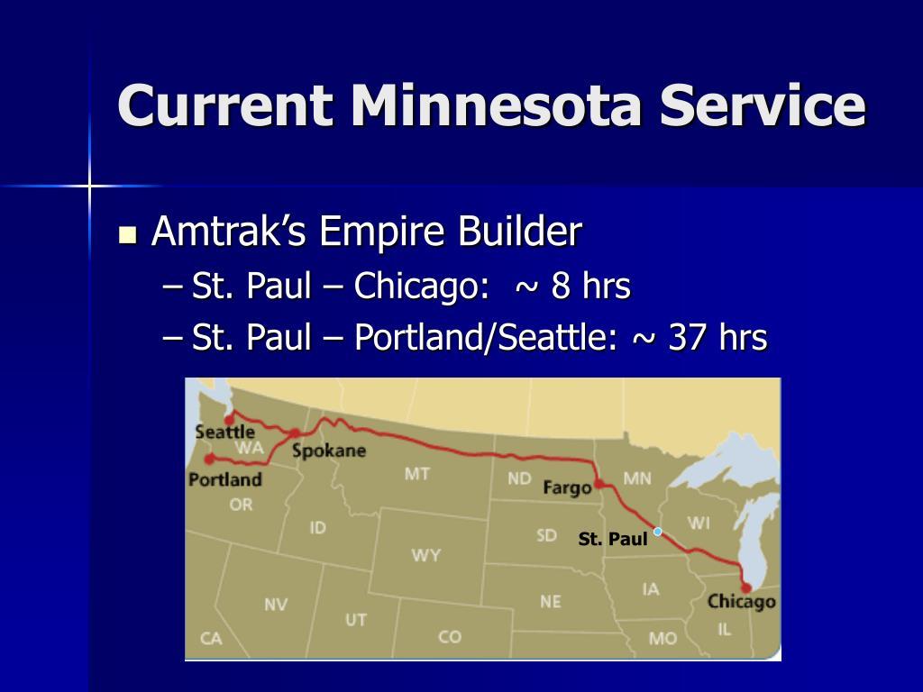 Current Minnesota Service