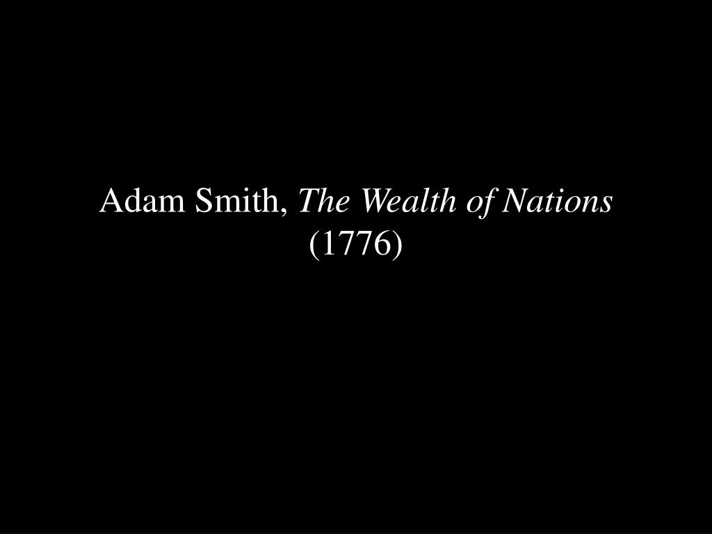 Adam Smith,