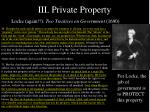 iii private property