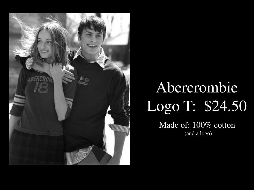 Abercrombie Logo T:  $24.50