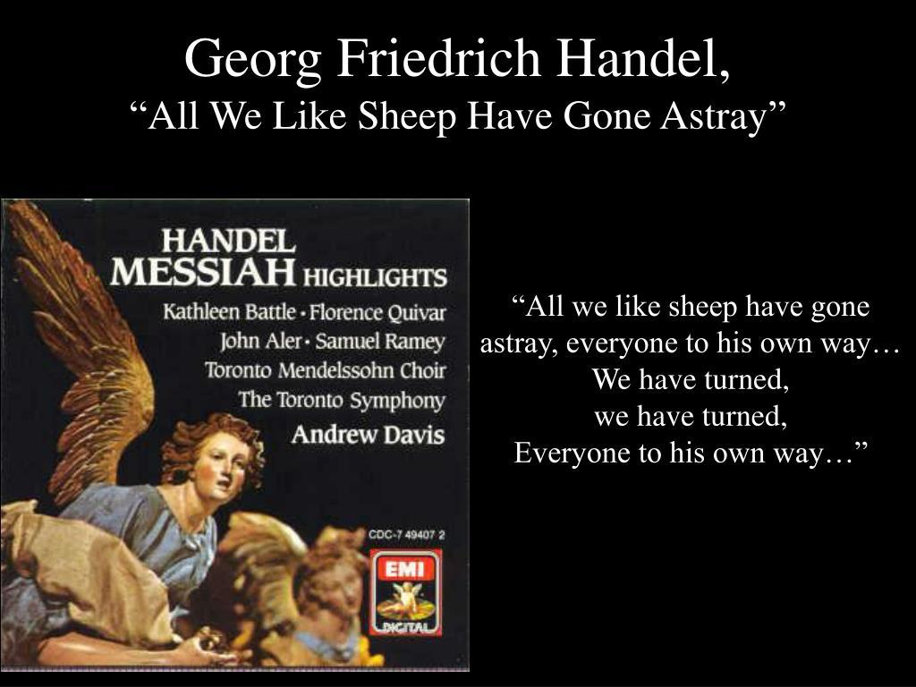 Georg Friedrich Handel,