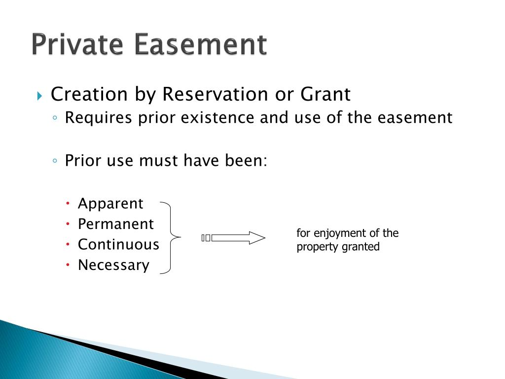 Private Easement