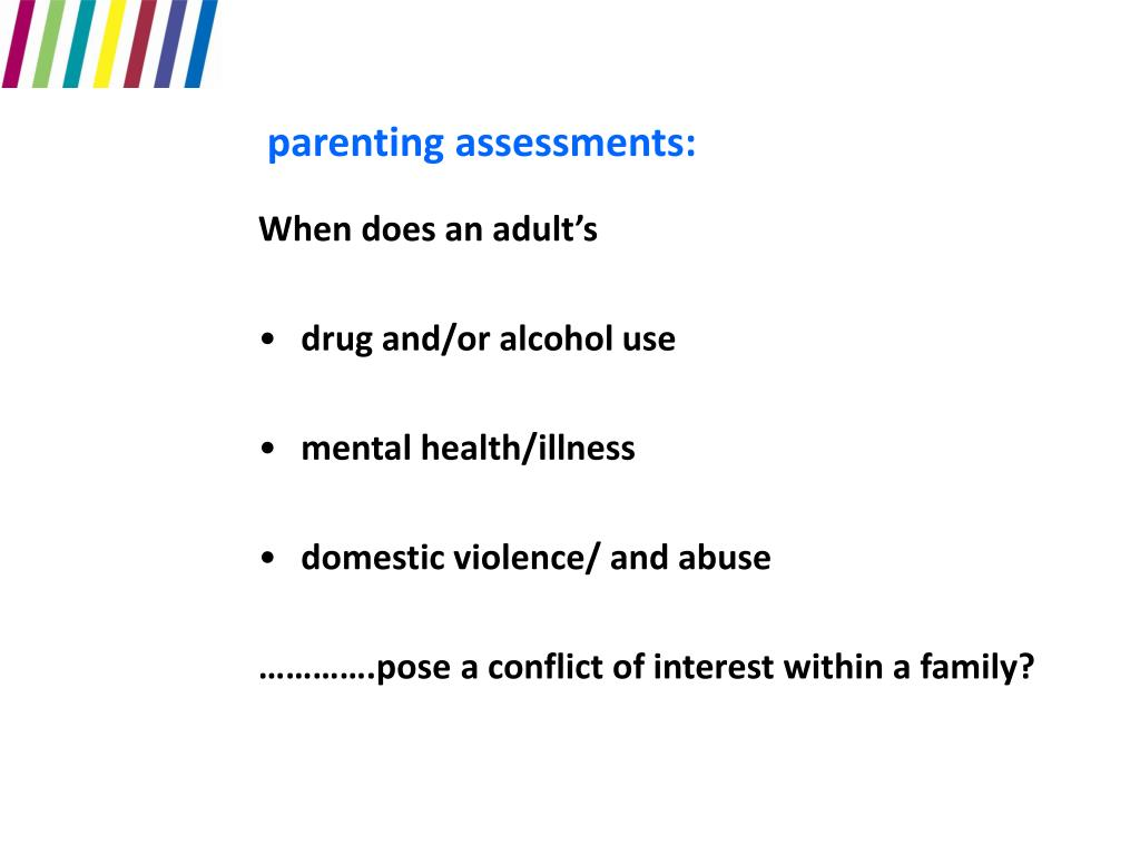 parenting assessments: