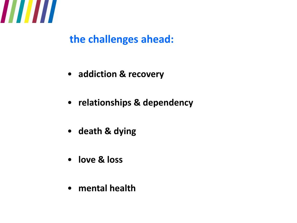 the challenges ahead: