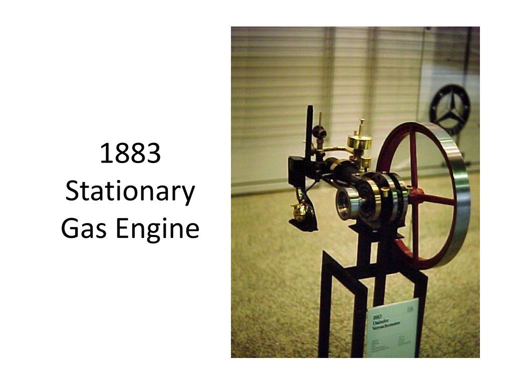 1883 Stationary Gas Engine