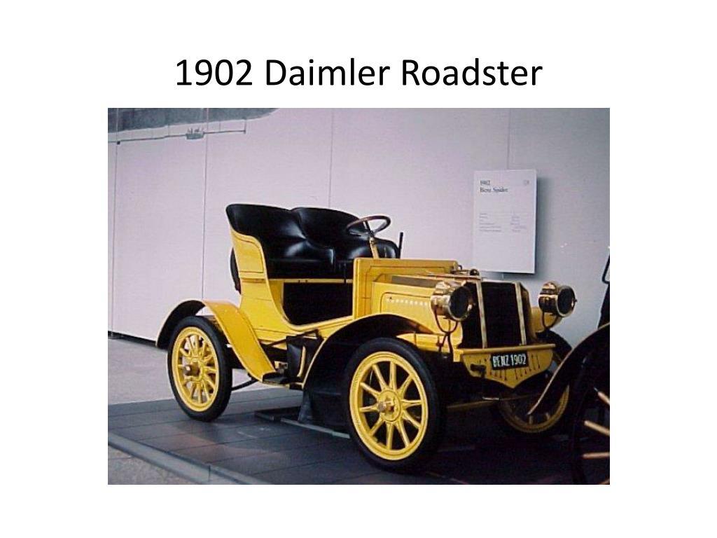 1902 Daimler Roadster