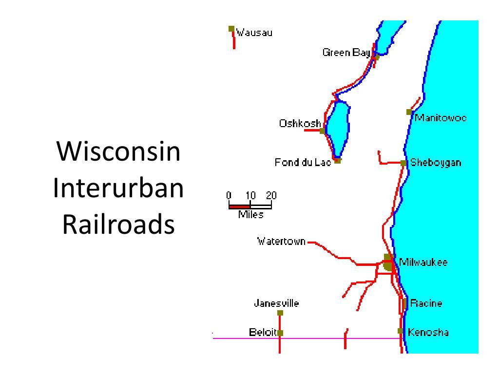Wisconsin Interurban Railroads