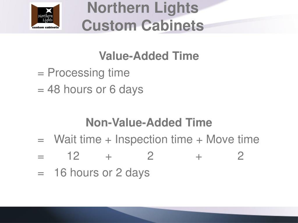 Northern Lights Custom Cabinets