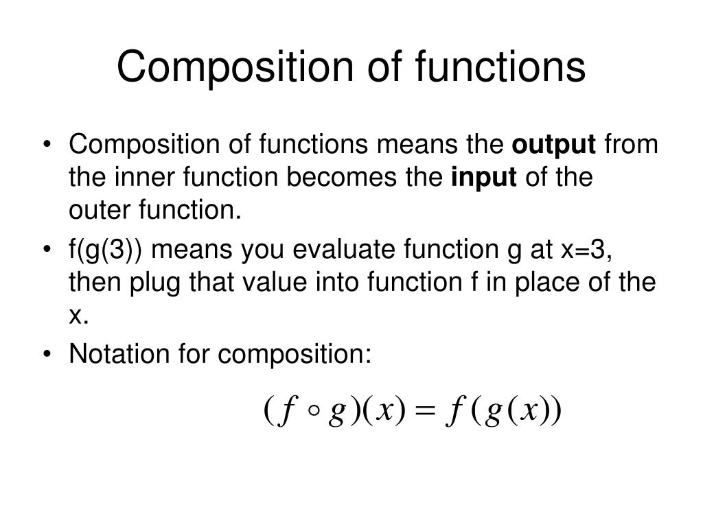 how to find the domain of a composite function