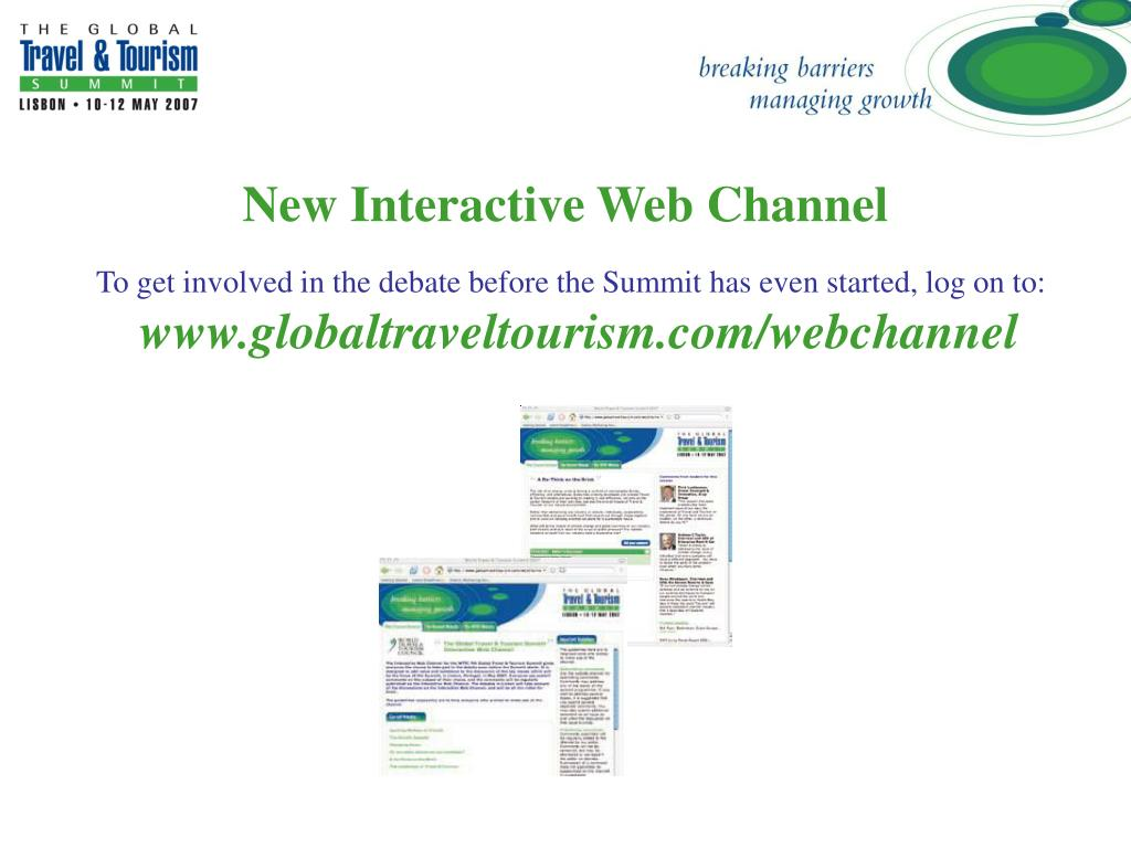 New Interactive Web Channel