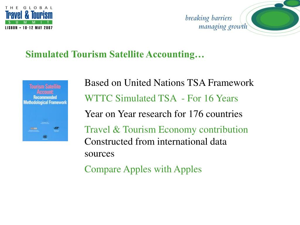 Simulated Tourism Satellite Accounting…