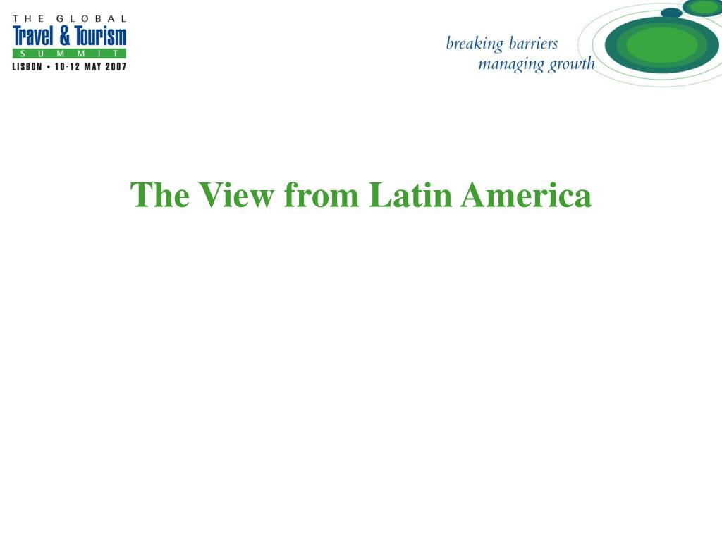 The View from Latin America