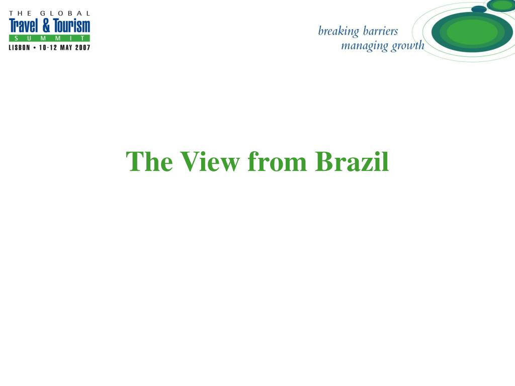 The View from Brazil