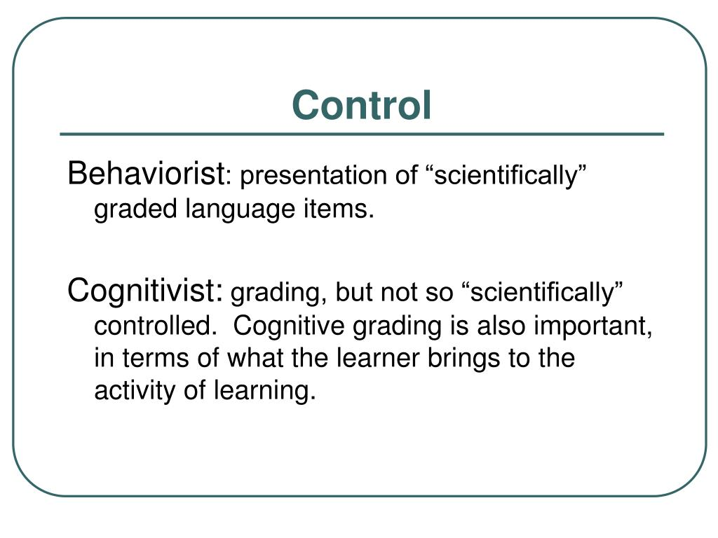 cognitivist approaches Cognitive constructivism common to most cognitivist approaches is the idea that knowledge comprises symbolic mental representations.
