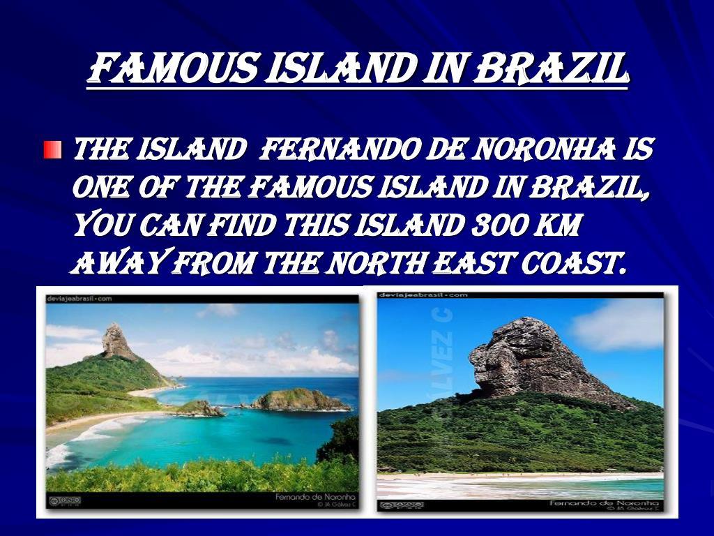 Famous island in brazil