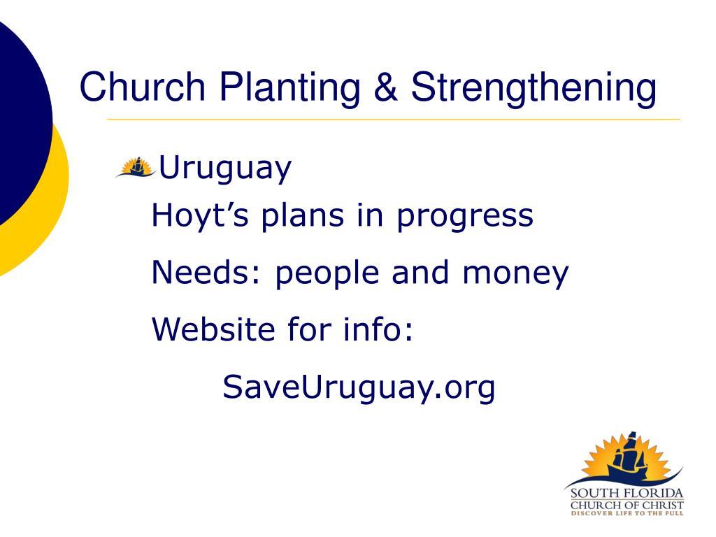Church Planting & Strengthening