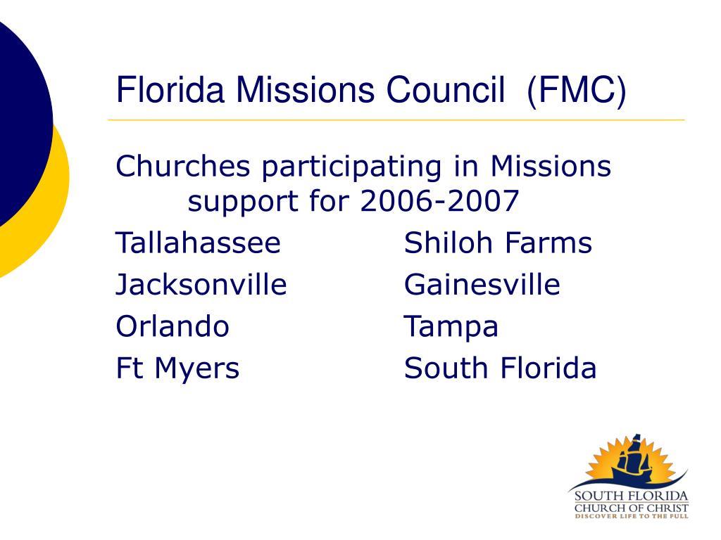 Florida Missions Council  (FMC)