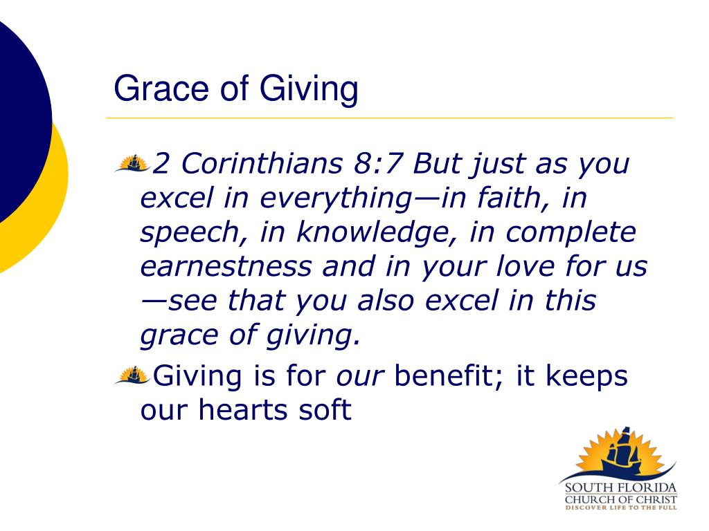 Grace of Giving