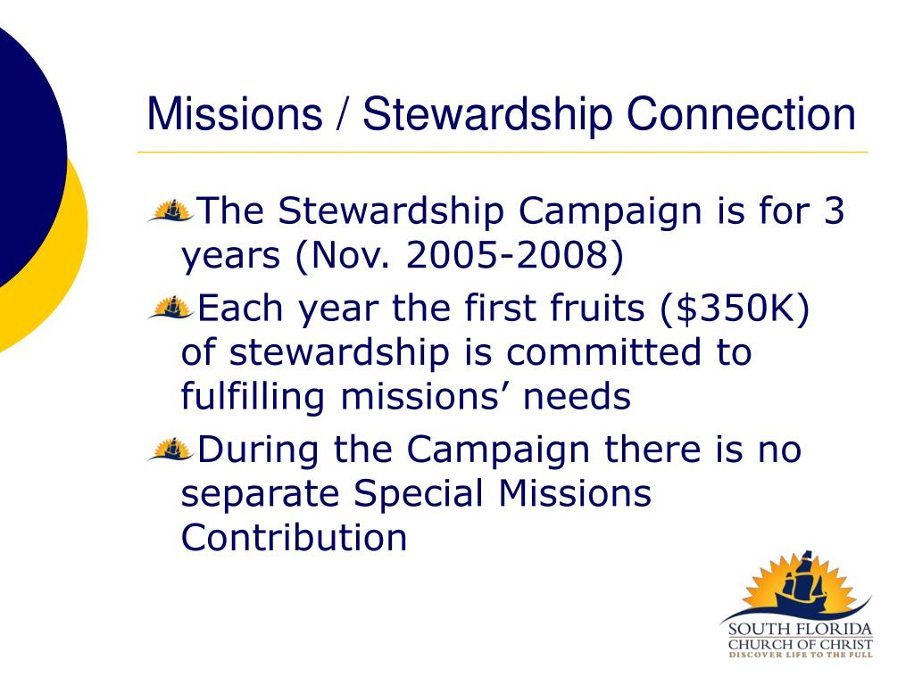 Missions / Stewardship Connection