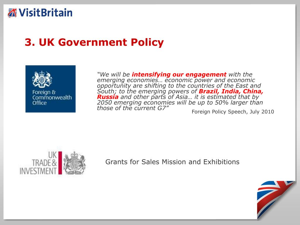 3. UK Government Policy