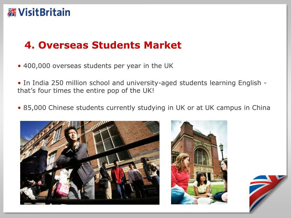 4. Overseas Students Market