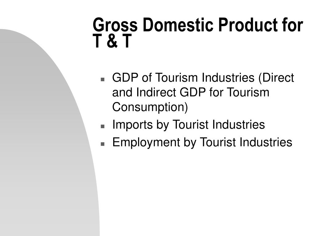 Gross Domestic Product for T & T