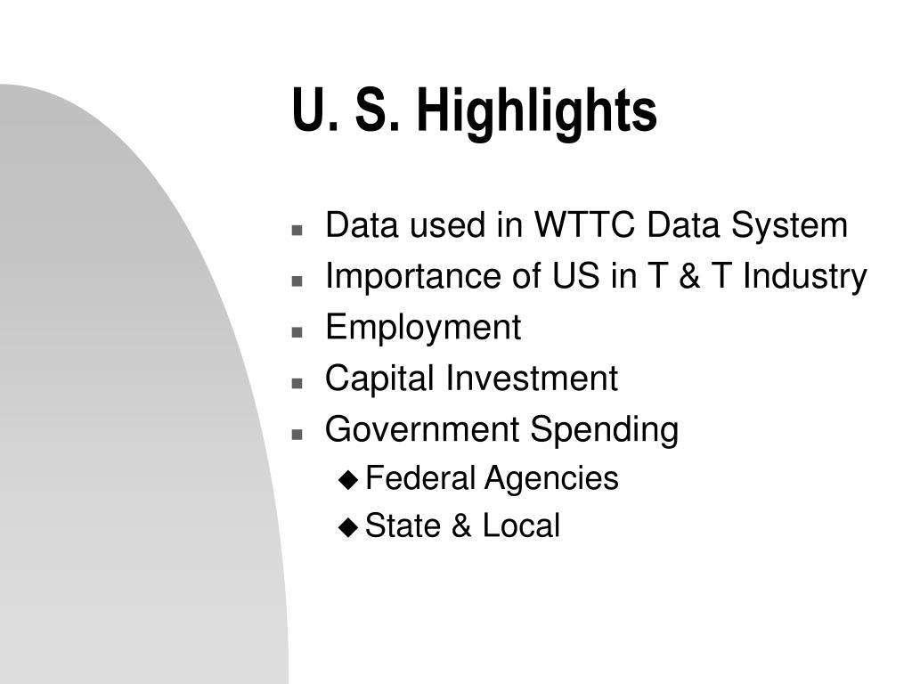 U. S. Highlights