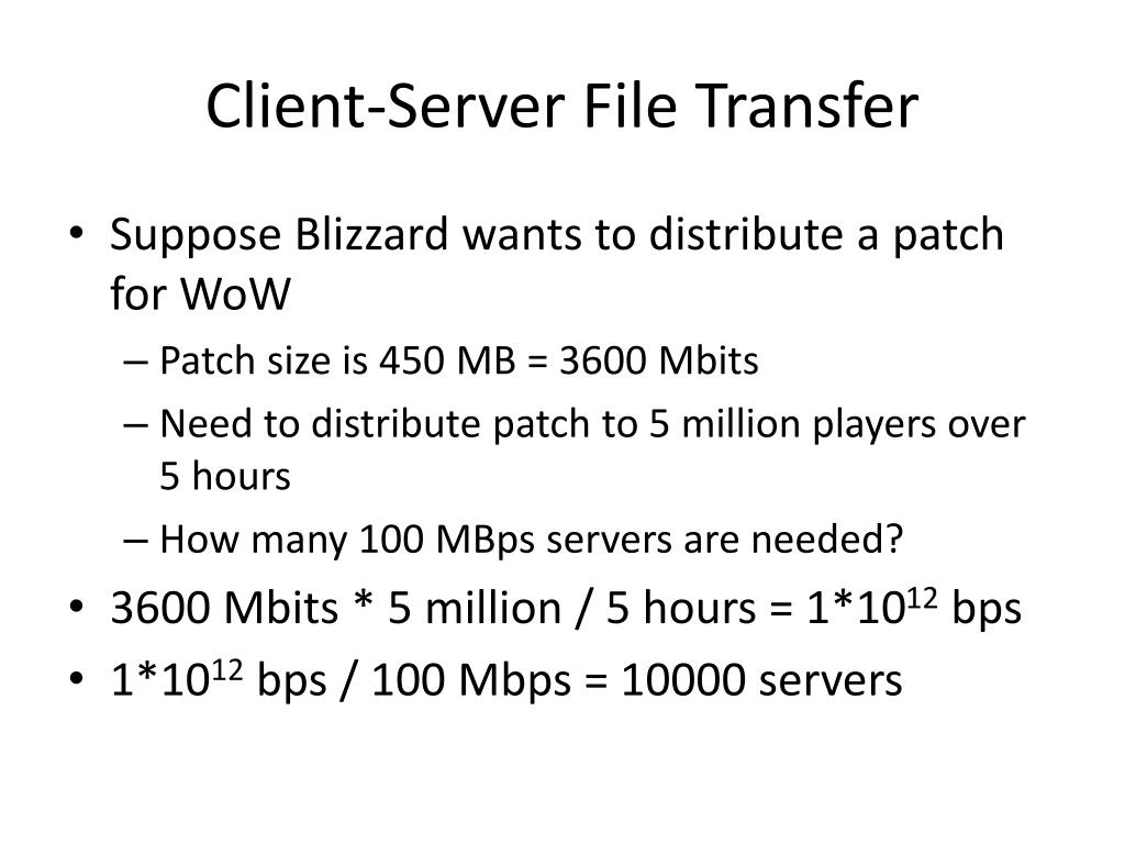 Client-Server File Transfer