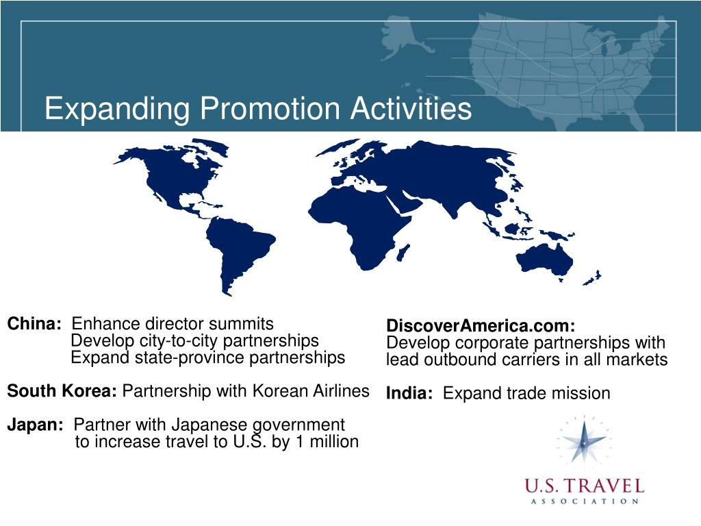 Expanding Promotion Activities